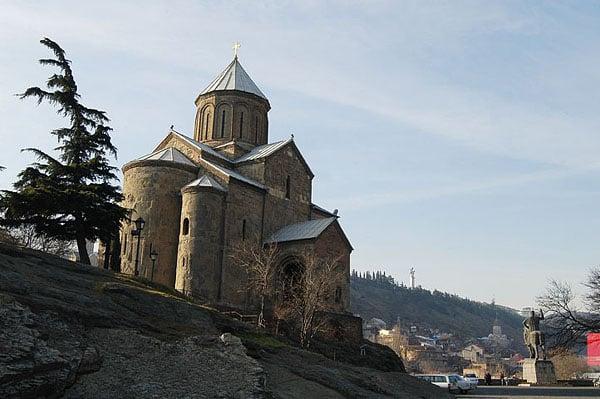 Храм Метехи / Фото из Грузии