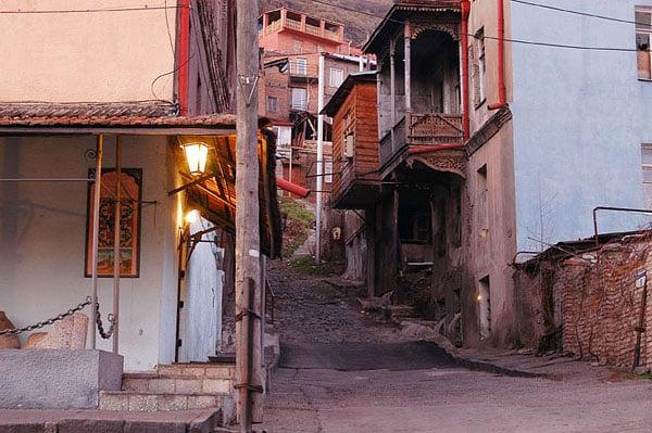 Переулок / Фото из Грузии