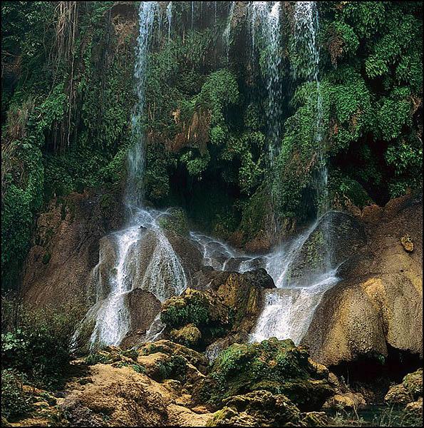 Водопад в Эль-Ничо / Фото с Кубы