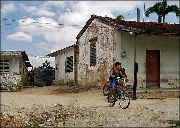 Где-то в деревушке между Сьенфуэгосом и Тринидадом / Фото с Кубы