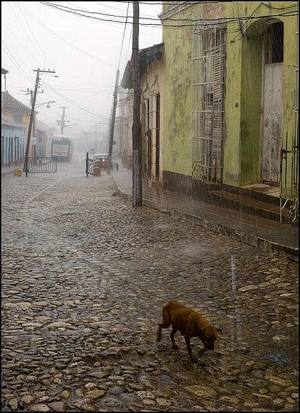 Дождь в Тринидаде / Фото с Кубы
