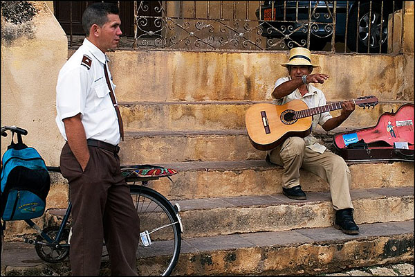 На улицах Тринидада / Фото с Кубы