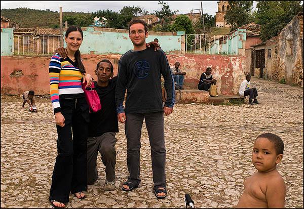 Локо с Васей и Таней / Фото с Кубы
