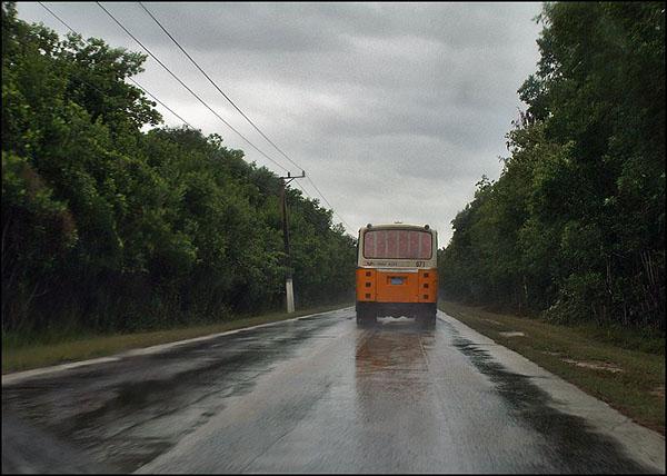 В дороге / Фото с Кубы