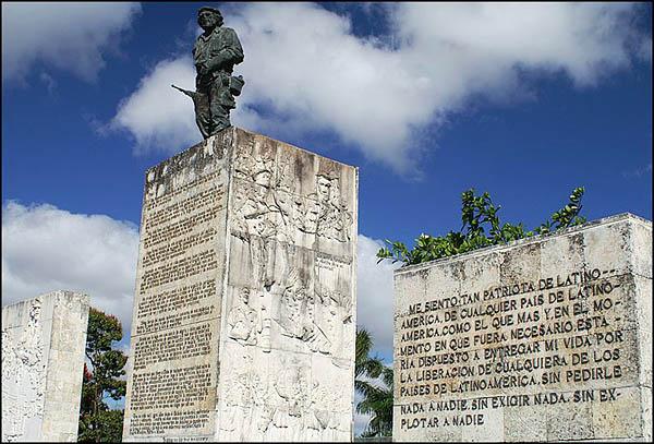 Прощальное письмо Че. В 1997 здесь были захоронены останки Че Гевары / Фото с Кубы