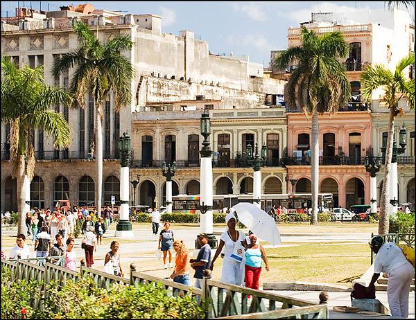 Площадь у Капитолия / Фото с Кубы