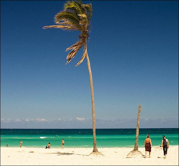 Пляж Санта-Мария / Фото с Кубы