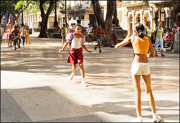 Пионеры на Прадо / Фото с Кубы