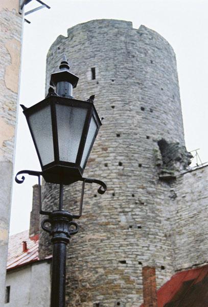 Оборонительная башня / Фото из Эстонии