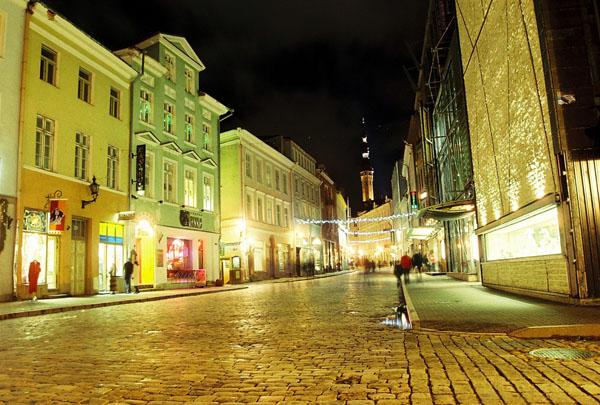 Улица Виру / Фото из Эстонии