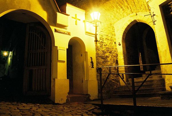 Ночные улицы Старого города / Фото из Эстонии