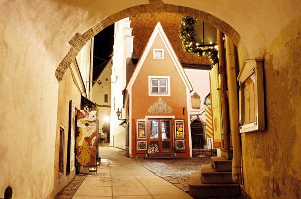 Домики / Фото из Эстонии