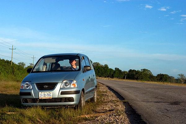 Север Белиза. На обочине Северного шоссе / Фото из Белиза
