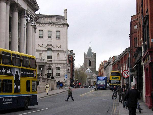 На улицах Дублина / Фото из Ирландии