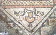 Поградец, мозаика в Лине
