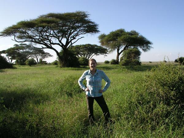 Нам повезло прогуляться по окрестностям, хотя это и нарушает технику безопасности / Фото из Кении