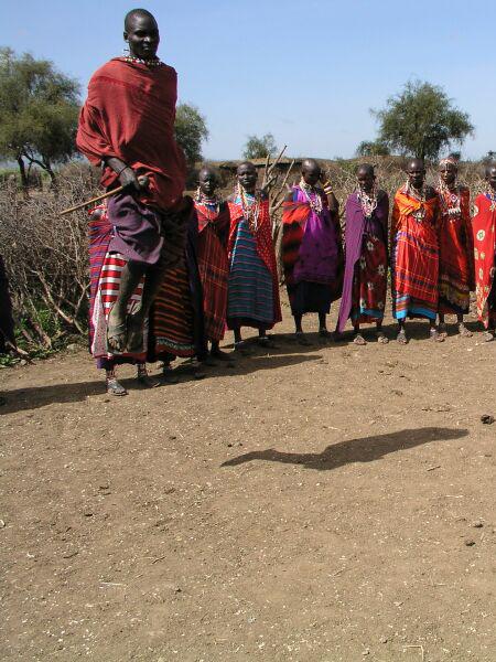 Все кенийцы высокие, темнокожие / Фото из Кении