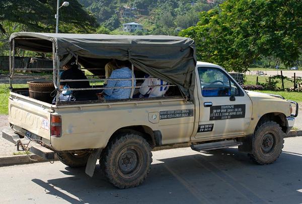 Автотранспорт на Борнео / Фото из Малайзии