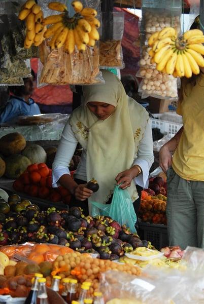 Рынок / Фото из Малайзии