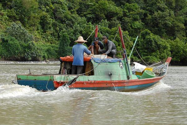 Рыболовецкий кораблик / Фото из Малайзии