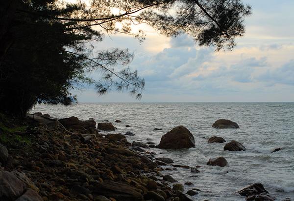 Берег моря / Фото из Малайзии