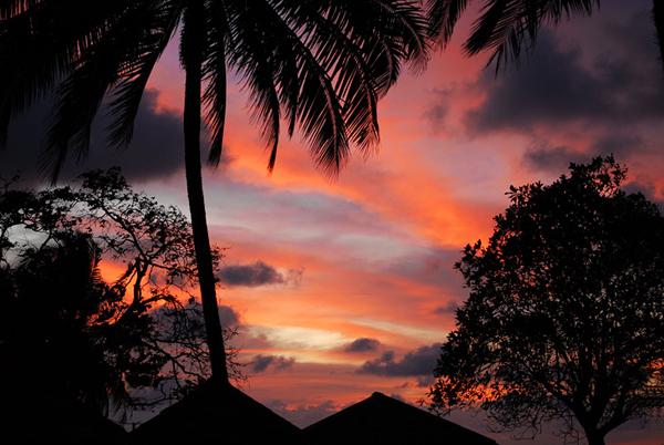 Невероятный закат / Фото из Малайзии