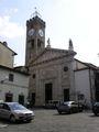 фасад церкви Collegiata di Santa Maria Assunta / Италия