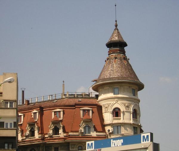 Архитектура Бухареста / Фото из Румынии