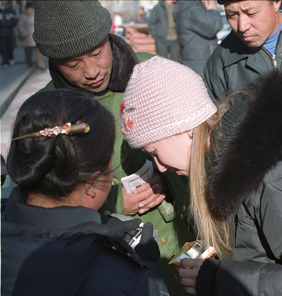 С китайцами стоит поторговаться / Фото из Китая