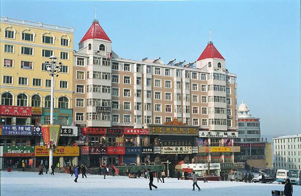Центр города / Фото из Китая