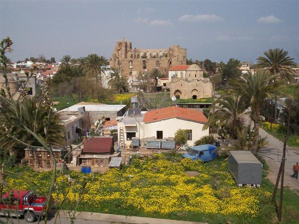 Вид на Фамагусту / Фото с Кипра
