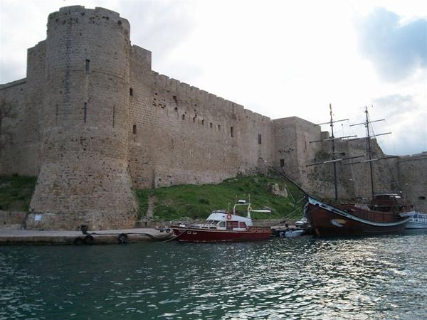 Византийская морская крепость / Фото с Кипра