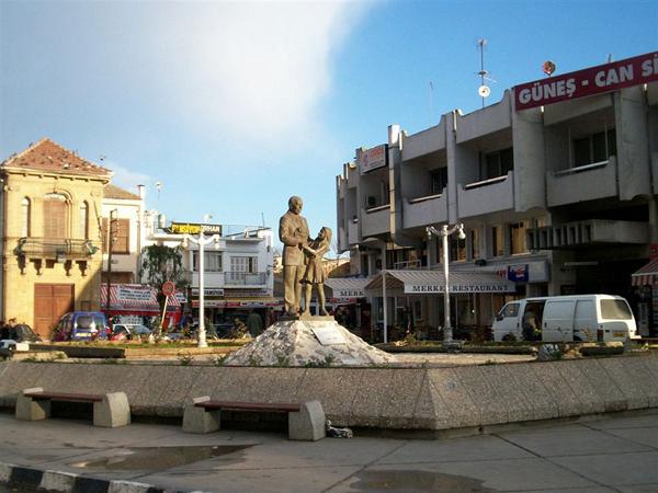 Городская площадь / Фото с Кипра