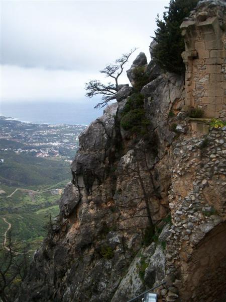 Попасть в замок непросто / Фото с Кипра