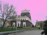розовое небо над прагой / Чехия