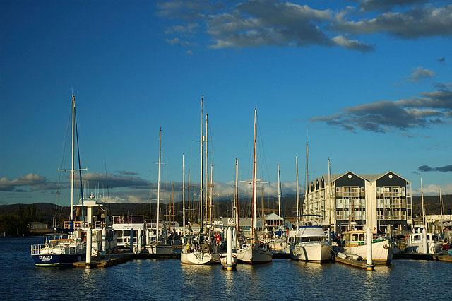 Старая гавань на закате / Фото из Австралии