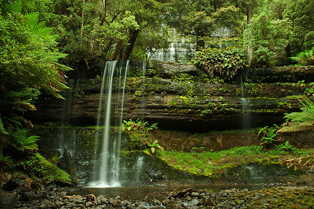 Russell Falls / Фото из Австралии