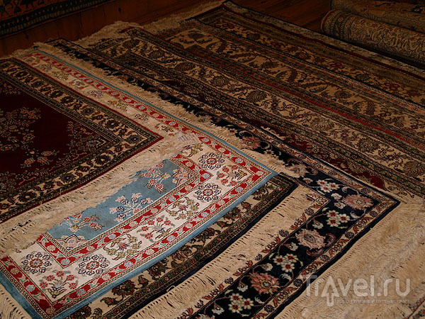 Турецкие ковры из хлопка, шерсти и шелка - один красивее другого / Фото из Турции