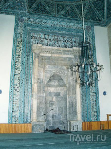 Внутри мечети Аляеддина / Фото из Турции