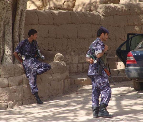 Полицейские / Фото из Йемена