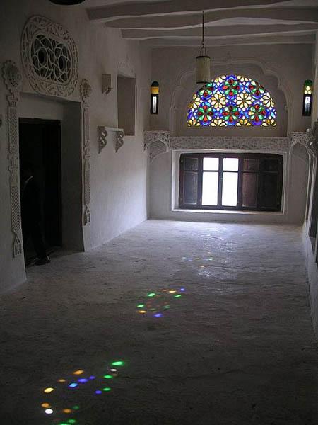 Интерьер дворца / Фото из Йемена