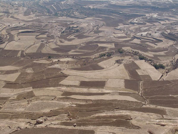 Мозаика пейзажей / Фото из Йемена