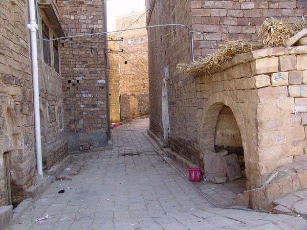 Узкие улочки / Фото из Йемена