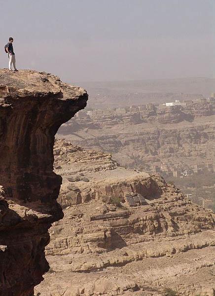 Обрыв / Фото из Йемена