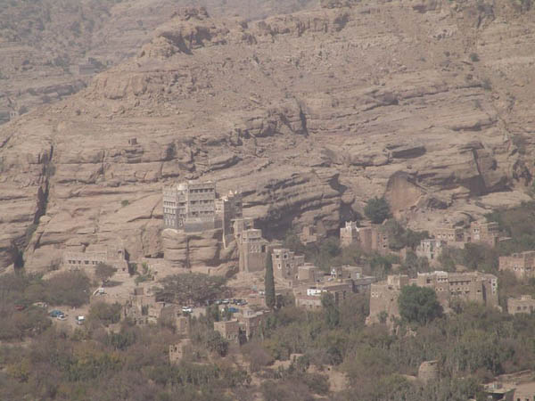 Дворец - летняя резиденция имама / Фото из Йемена