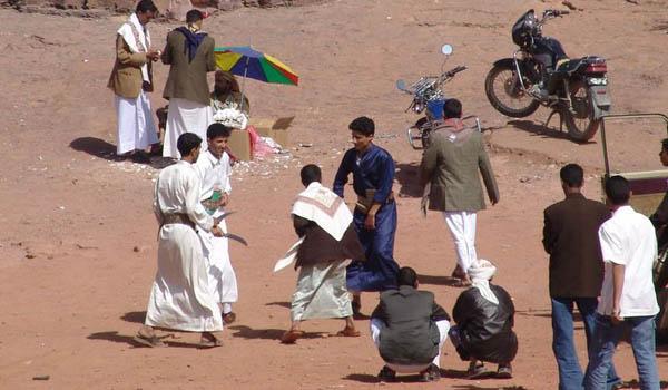 Развлечения местных жителей / Фото из Йемена