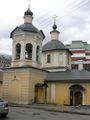 Церковь Сергия в Крапивниках с усыпальницей князей Ухтомских / Россия