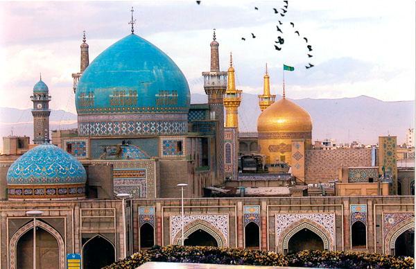 Открытка: комплекс Astan-e Qods-e Razavi / Фото из Иpана
