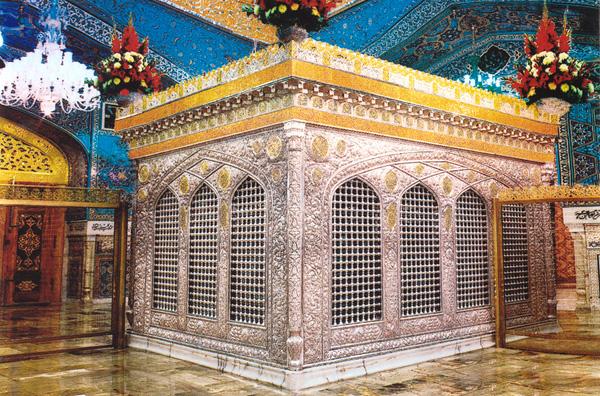 Открытка: гроб Имама Резы / Фото из Иpана