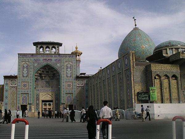 Мавзолей Shah-e Cheragh / Фото из Ирана